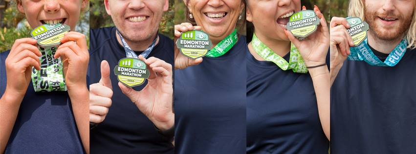 edmonton marathon medals