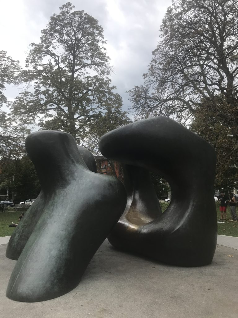 Large Two Forms - Henry Moore