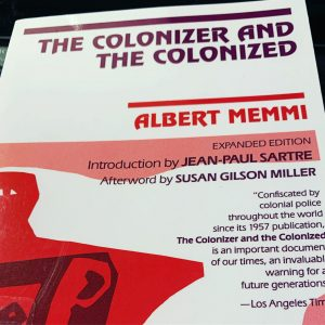 Cover of The Colonizer and The Colonized by Albert Memmi.